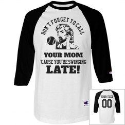 Heckle The Batter Baseball Mom/Dad