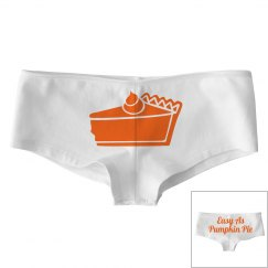 Easy As Pumpkin Pie Panty