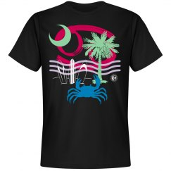Johnny Dappa Trading Co. Premium Cancer Zodiac T-Shirt