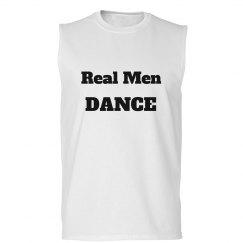 Real Men Dance Muscle Tee