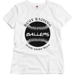 Raising Ballers Custom Baseball Mom
