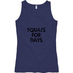 Skwats for Days Adult Tank