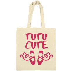 Tutu Cute Tote Bag