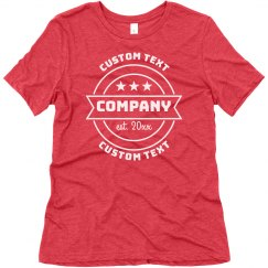 Create Custom Company Shirts