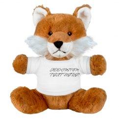 Custom Cuddly Fox Gift