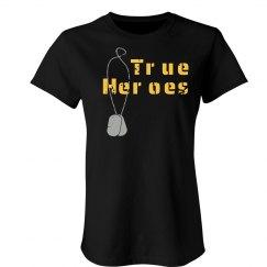 True Heroes Distress T