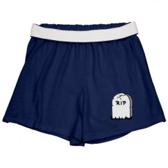 Slim Fit Cheer Shorts