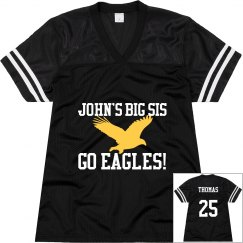 Eagles Jersey w/Back