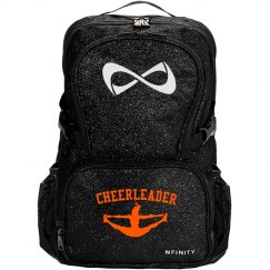 """Straight Outta Cheer"" Infinity Bookbag"