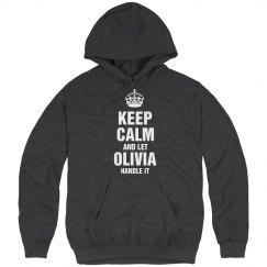 Let Olivia handle it