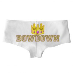 BowDown Queen Emoji Panty