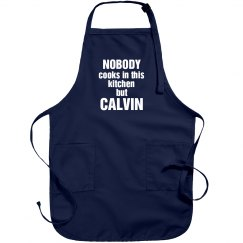 Calvin is the cook!