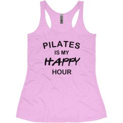 Pilates is happy hour
