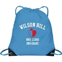 Mrs. Lewis School Bag