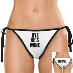 Aye He's Mine w/ Back