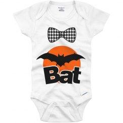 Baby vampire bat onesie