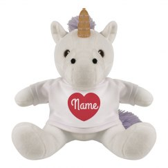Personalized Name In Heart Gift