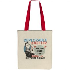 Knit free or dye