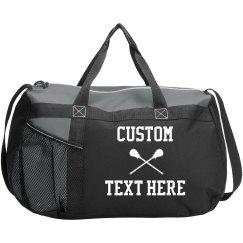 Customizable Lacrosse Sports Bag