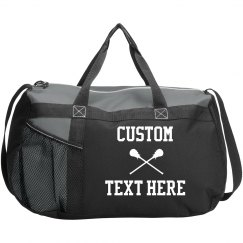 Customizable Lacrosse Sports Bag