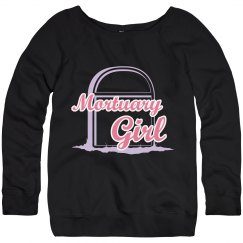 Mortuary Girl relaxed sweatshirt