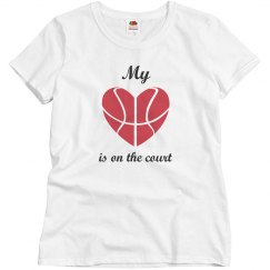 My love is on the court