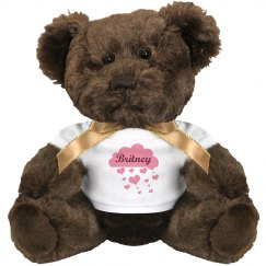 Britney custom bear