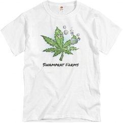 Swamprat Farms Distressed T Shirt