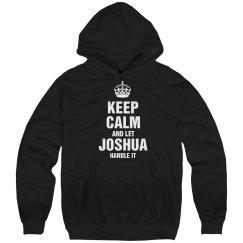 Let Joshua handle it
