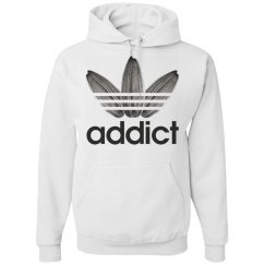 Addict to Sunflower Seeds Softball Player Hoodie