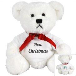 Baby's First Christmas Teddy Bear