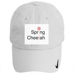Spring Cheetah logo hat