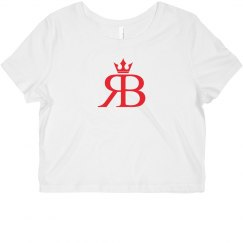 Red Bottoms Crop Tee