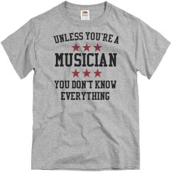 Musicians know all
