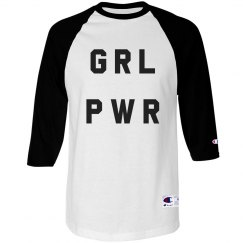 GRL PWR Girl Power Slouchy Tee