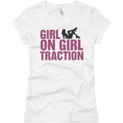 Roller Derby Girl On Girl