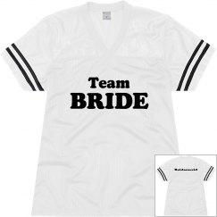 Team Bride Jerseys