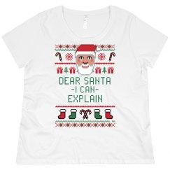 Santa I Can Explain Ugly Sweater