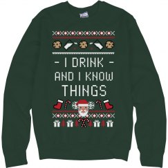 I Drink And I Know Things Santa