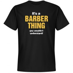 It's a Barber thing