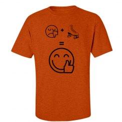Sad + Skate = Happy Shirt