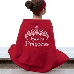 God's Princess Throw
