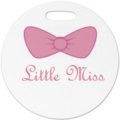 Little Miss Luggage Tag