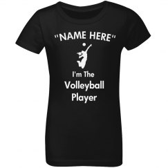 I'm the volleyball player