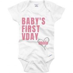 Baby's 1st Valentine