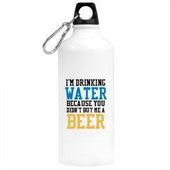 Buy me a Beer Water Bottle
