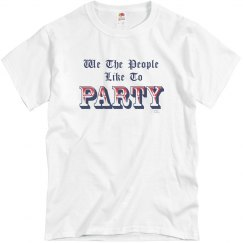 We the People - Party  grey