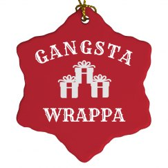 Gangsta Wrappa Festive Decor