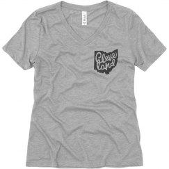 Cleveland mock pocket T-shirt