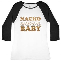 Nacho Baby Metallic Raglan
